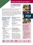 La Semana Parent Institute Flier 2015