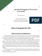 Cervera, Juan - Adquisición y Desarrollo Del Lenguaje en Preescolar y Ciclo Inicial