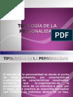 Tipologia de La Personalidad