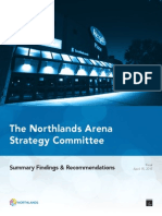 FULL - Northlands Arena Strategy Committee
