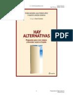 Hay Alternativas - V Navarro J Torres a Garzon