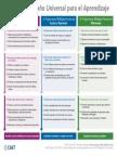 Principios DUA- Organizador gráfico