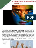 Educación en Derechos Humanos en México