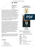president of south africa - wikipedia, the free encyclopedia