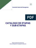 Parte 1- Catálogo de Etapas y Sub-Etapas