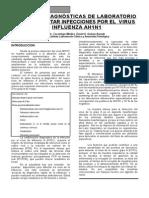 DIAGNÓSTICO  AH1N1