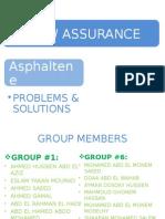 Flow Assurance Asphaltene