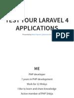 Laravel 4 Testing