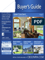 Coldwell Banker Olympia Real Estate Buyers Guide April 18th 2015