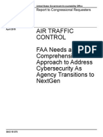 GAO report on FAA/Cybersecurity