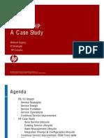 ITIL V3 at HP a Case Study