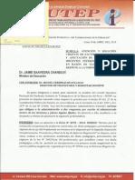 Oficio Sutep-Minedu 04-2015