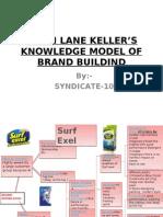 Kevin Lane Kellers Knowledge Model of Brand Building