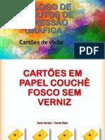 Catálogo Cartoes de Visita