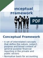 Conceptual Framework 2013