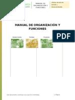 Manual de Organización y Funciones Sertecem