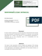 Responsabilidad Notarial