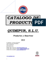 Catalogo Productos Quimicos