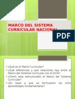 Fundamentos Generales Del Marco Del Sistema Curricular Nacional