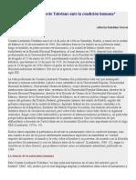 Vicente Lombardo Toledano Ante La Condición Humana