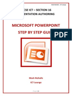 Power Point step by step
