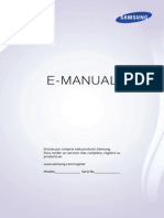 Manual Smart TV 46F8000