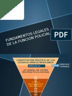 Fundamentos Legales de La Funcion Policial