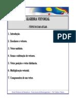 Cap.1 - Algebra Vetorial