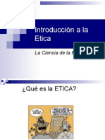 1 Introduccion a La Etica