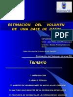 VOLUMEN DE LA BD