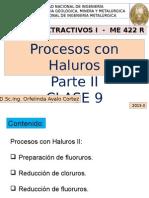 CLASE 9-Procesos Extractivos I