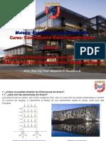 Curso de Diseño en Acero Clase No 5. Diseño de Sistemas Estructurales en Acero