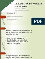 Fronteras y Tratados de Peru