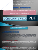 Ing de Proyectos - Evaluacion