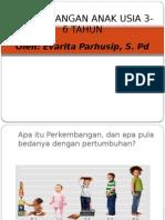 Perkembangan Anak Usia 3-6 Tahun Sibolga
