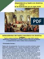 El Teatro en América Latina en El Siglo XVIII - EMAD 2015