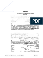 F134 - Bf-Acta Constitucion Bien de Familia Propio