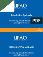 Distribución Normal- Estadistica