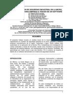 Capacitacion en Seguridad Industrial en La Mypimes