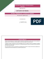 Estudio de Redes (Probabilidad y Estadística)