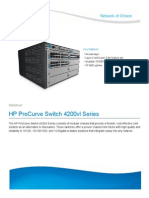 HP ProCurve Switch 4200vl Series