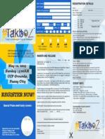PDIC Takbo2 (2015) Reg Form