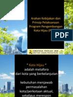 Arahan Kebijakan Dan Prinsip P2KH
