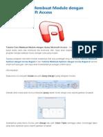 Tutorial Cara Membuat Module Dengan Query Microsoft Access _ Blog PNS