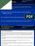 Assignment Model
