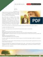 Pride & Prejudice film education