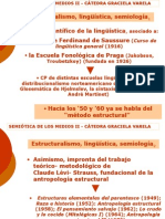 Clase 4 Estructuralismo Lingüíistica Semiología