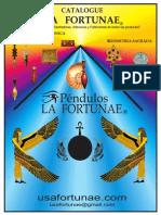 Radiesthesia Radionic La Fortunae Pendulums