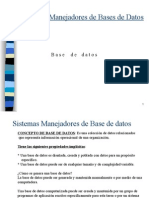 2. Base de Datos - Manejadoresk nicw