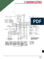 Diagrama eletrico da moto XLR 125